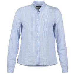 tekstylia Damskie Koszule Marc O'Polo DEUZIA Niebieski
