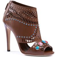 Buty Damskie Sandały Gucci 371057 A3N00 2548 Brązowy