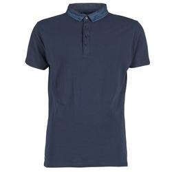 tekstylia Męskie Koszulki polo z krótkim rękawem Deeluxe AGAINER Marine