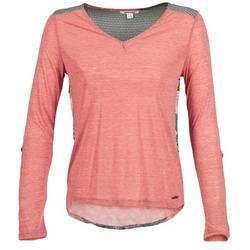 tekstylia Damskie T-shirty z długim rękawem Smash TIRAMISU Różowy