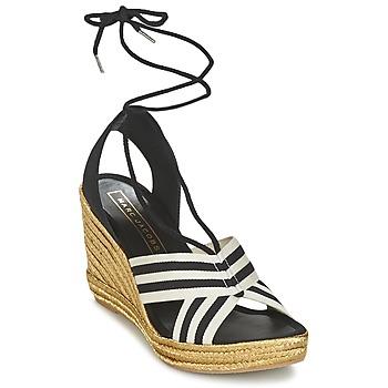 Buty Damskie Sandały Marc Jacobs DANI Czarny / Biały