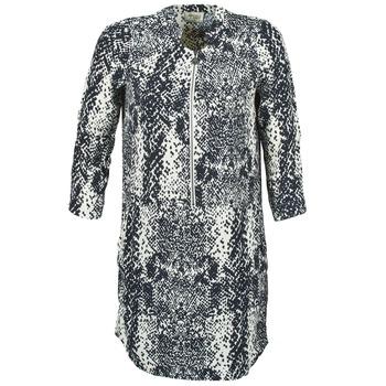 tekstylia Damskie Sukienki krótkie Stella Forest EDERI MARINE / Biały