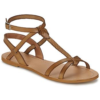 Buty Damskie Sandały So Size BEALO Brązowy