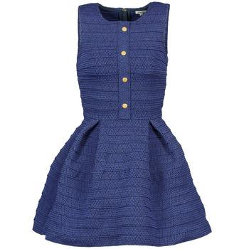 tekstylia Damskie Sukienki krótkie Manoush ELASTIC Niebieski