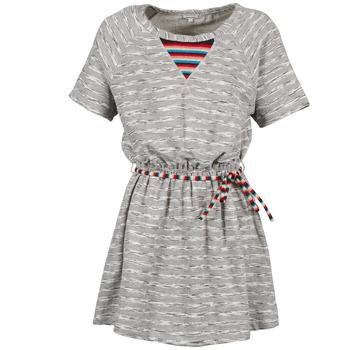tekstylia Damskie Sukienki krótkie Manoush ETNIC Szary