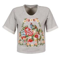 tekstylia Damskie T-shirty z krótkim rękawem Manoush GIPSY Szary