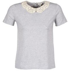 tekstylia Damskie T-shirty z krótkim rękawem Manoush T-SHIRT Szary