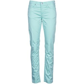 tekstylia Damskie Spodnie z pięcioma kieszeniami Gant 410478 Szary