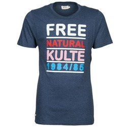 tekstylia Męskie T-shirty z krótkim rękawem Kulte AUGUSTE FREE Niebieski