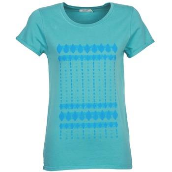 tekstylia Damskie T-shirty z krótkim rękawem Kulte JULIETTE BATIK Niebieski