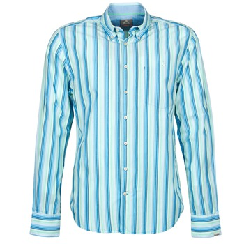 tekstylia Męskie Koszule z długim rękawem Gaastra SUMMERJAM Niebieski / Biały