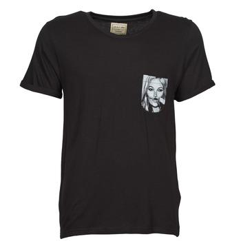 tekstylia Męskie T-shirty z krótkim rękawem Eleven Paris KMPOCK Czarny