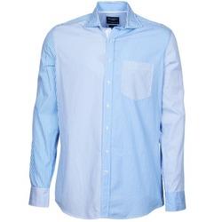 tekstylia Męskie Koszule z długim rękawem Hackett GORDON Niebieski