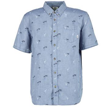 tekstylia Męskie Koszule z krótkim rękawem Vans HOUSER SS Niebieski