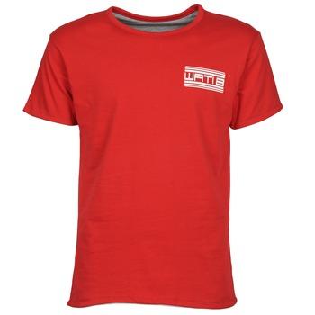 tekstylia Męskie T-shirty z krótkim rękawem Wati B WATI CREW Czerwony