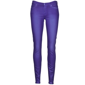 tekstylia Damskie Jeansy slim fit 7 for all Mankind THE SKINNY VINE LEAF Niebieski