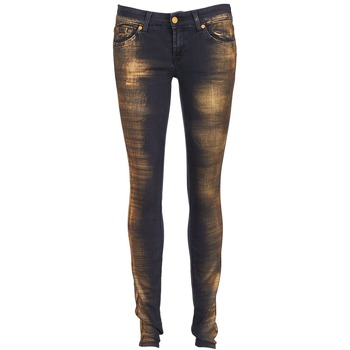 tekstylia Damskie Jeansy slim fit 7 for all Mankind OLIVYA Niebieski