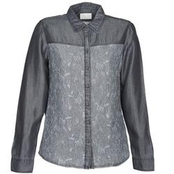 tekstylia Damskie Koszule Esprit Denim Blouse Szary