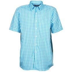 tekstylia Męskie Koszule z krótkim rękawem Pierre Cardin 539236202-140 Niebieski