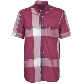 tekstylia Męskie Koszule z krótkim rękawem Pierre Cardin 538536226-860 Mauve / Fioletowy