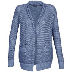 tekstylia Damskie Swetry rozpinane / Kardigany Marc O'Polo LEROY Niebieski