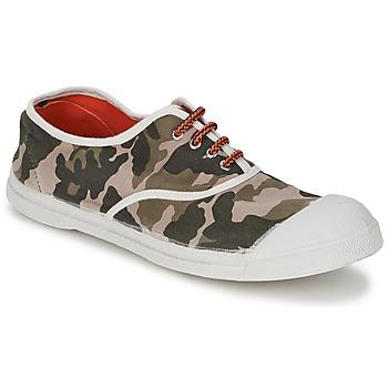 Buty Damskie Trampki niskie Bensimon TENNIS CAMOFLUO Camouflage