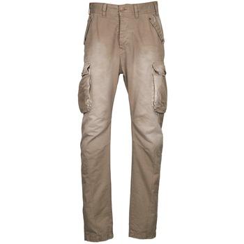 Spodnie bojówki Freeman T.Porter PUNACHO COTTON GAB CHOCOLATE CHIP