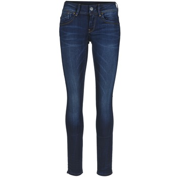 tekstylia Damskie Jeansy skinny G-Star Raw LYNN MID SKINNY Blue / Medium