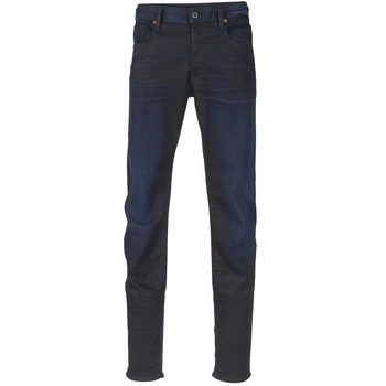 tekstylia Męskie Jeansy slim fit G-Star Raw 3301 SLIM Dark / Super / Stretch / Denim