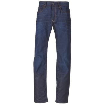 tekstylia Męskie Jeansy straight leg G-Star Raw 3301 STRAIGHT Denim / Dk