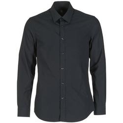 tekstylia Męskie Koszule z długim rękawem G-Star Raw CORE Czarny