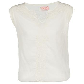 tekstylia Damskie T-shirty z krótkim rękawem Kaporal EVER Biały