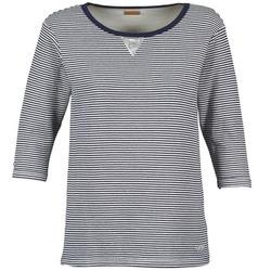 tekstylia Damskie Bluzy Napapijri BOISSERON Marine / Biały