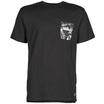 tekstylia Męskie T-shirty z krótkim rękawem DC Shoes WOODGLEN Czarny