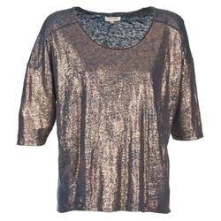 tekstylia Damskie T-shirty z krótkim rękawem Miss Sixty FOX Marine / Złoty