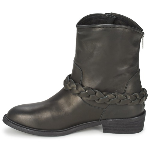 LAMARIO  Jonak  buty za kostkę  damskie  czarny