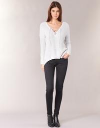 tekstylia Damskie Jeansy skinny Pepe jeans SOHO Czarny