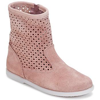 Buty Dziewczynka Buty za kostkę Citrouille et Compagnie BOREAL Różowy