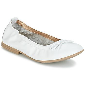 Buty Dziewczynka Baleriny Citrouille et Compagnie JAPPALIE MOCA Biały