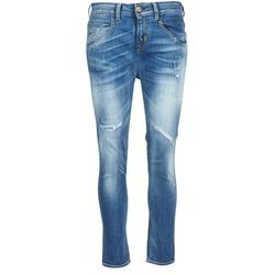 tekstylia Damskie Jeansy straight leg Meltin'pot LEIA Niebieski / CLAIR