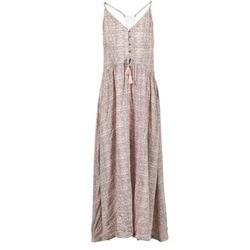 tekstylia Damskie Sukienki długie Rip Curl SNAKE Różowy