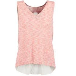 tekstylia Damskie Topy na ramiączkach / T-shirty bez rękawów Les Petites Bombes NODOLA Koral