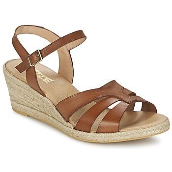 Buty Damskie Sandały So Size ELIZA Brązowy