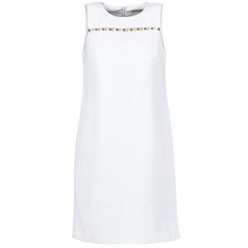 tekstylia Damskie Sukienki krótkie MICHAEL Michael Kors MS68W2L3GZ Biały
