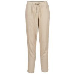 tekstylia Damskie Spodnie z lejącej tkaniny / Alladynki Best Mountain DOUNE Beżowy
