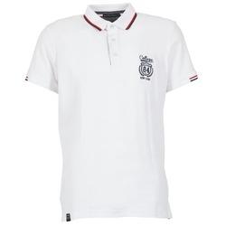 tekstylia Męskie Koszulki polo z krótkim rękawem Best Mountain CADLY Biały