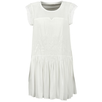 tekstylia Damskie Sukienki krótkie See U Soon KELLITS Biały