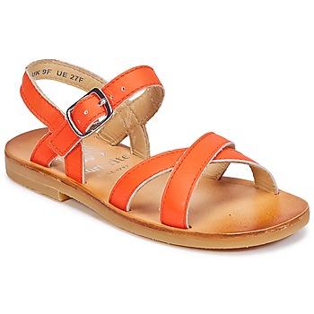 Buty Dziewczynka Sandały Start Rite NICE II Pomarańczowy