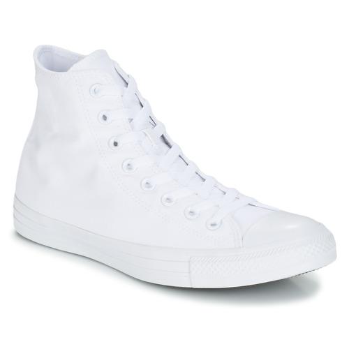 Buty Trampki wysokie Converse CHUCK TAYLOR ALL STAR MONO HI Biały