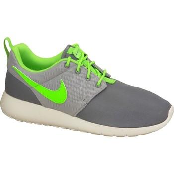Buty Chłopiec Trampki niskie Nike Roshe One Gs 599728-025 Białe,Szare,Zielone